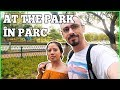 At the park. În parc. | Learn Romanian Language Lesson