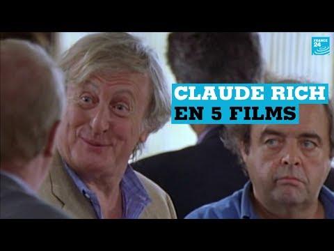 Cinéma : Claude Rich en 5 films