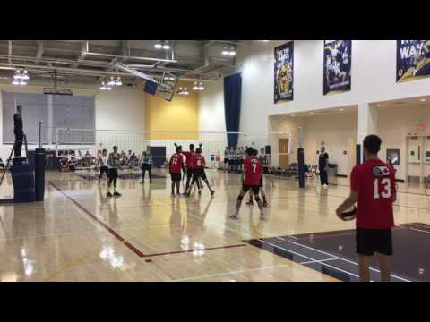 2016 NTCC 16UB Day 1 Pool Play - Ontario Red vs Sask