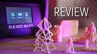 Elegoo Mars MSLA 3D Printer Review