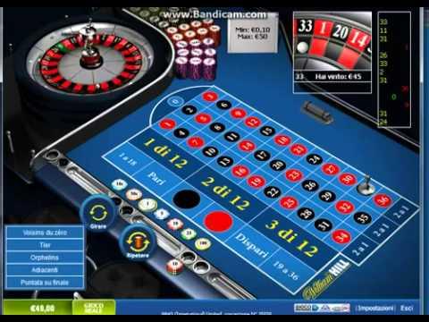 Video Testa roulette online