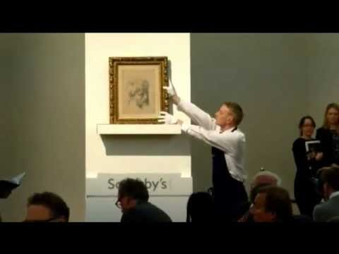 Raphael Drawing Fetches £29.7m At Sotheby's