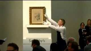 Raphael Drawing Fetches £29.7m At Sotheby