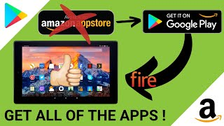 How to Download Google Play Store on Amazon Fire Tablet (2020) EASY