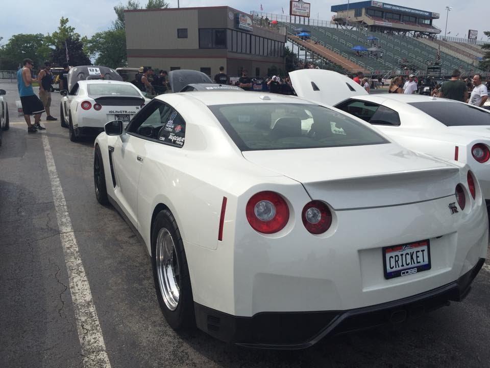 Buschur Racing's GTR @ The Shootout 2015