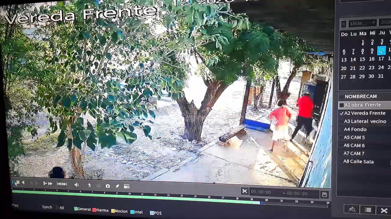 Quebrachal el hijo del intendente Rojas ataca al periodista Pavón