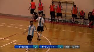 Calcio a 5, Final Four C2 - semifinale: Lepanto - Pro Calcio Italia, highlights