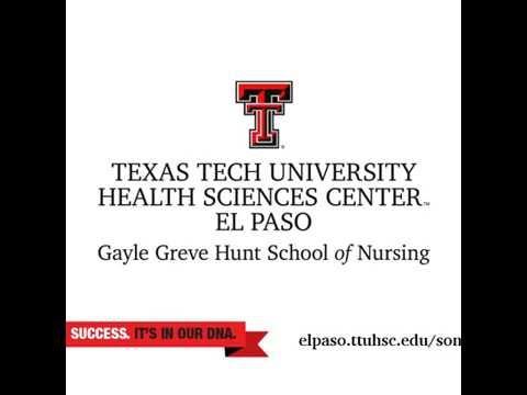 Texas Tech School Of Nursing >> Become A Nurse In 16 Months At The Gayle Greve Hunt School Of Nursing