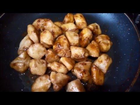 Куриные грудки по восточному (рецепт в описании)