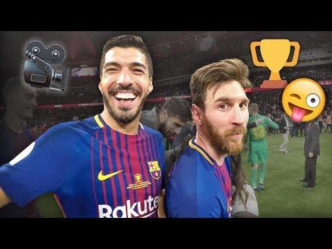 SEVILLA 0-5 BARÇA   Player cam celebrations