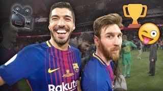vuclip SEVILLA 0-5 BARÇA | Player cam celebrations