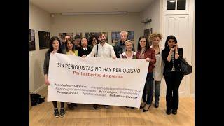Día de Libertad de Prensa con muestra de Natalia Sancha