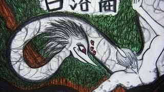 お絵かきTIME part3「妖怪白溶裔(しろうねり)」 yokai drawings thumbnail