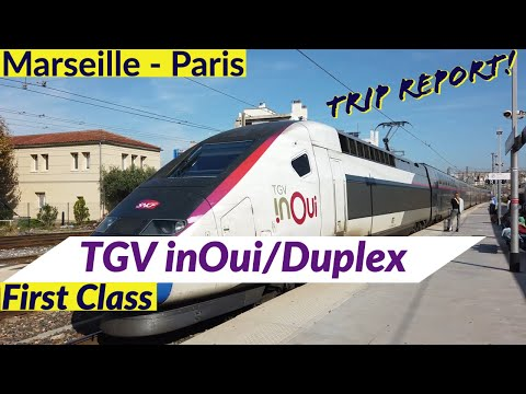 TGV inOui / Duplex from Marseille to Paris | First Class
