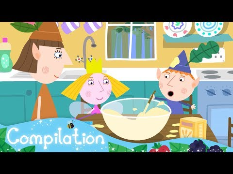 Ben and Holly's Little Kingdom | Food! | New Compilation