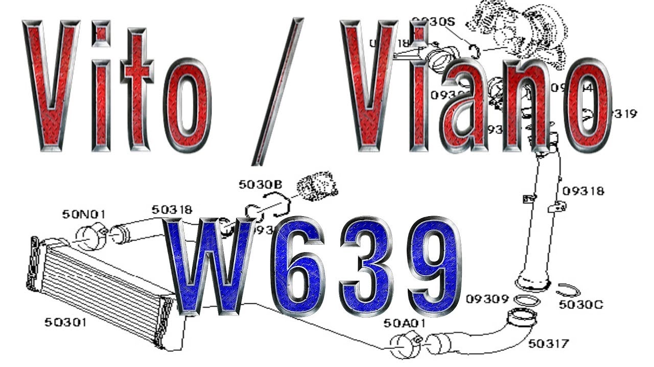 Vito Viano W639 Engine Cooling System Coolant Preheating Diagram Thermostat Radiator