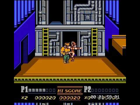 Nes Double Dragon 2 Final Boss Hack Modeled Dd4 Youtube