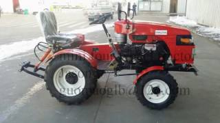 12/15hp mini four wheel tractor, mini motoblok, farm motoblok from Shandong, China