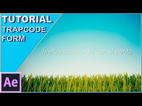 Tutorial hierba ondeando con el viento con Trapcode Form (After Effects)