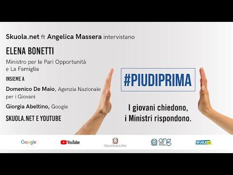 #Piudiprima: i giovani chiedono, la ministra Bonetti risponde – Skuola.net ft. Angelica Massera