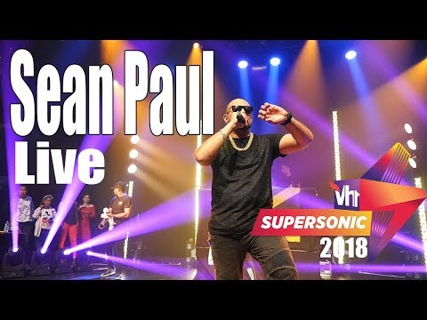 Sean Paul - Live at Vh1Supersonic 2018 Day 3 Pune India(Exclusive)
