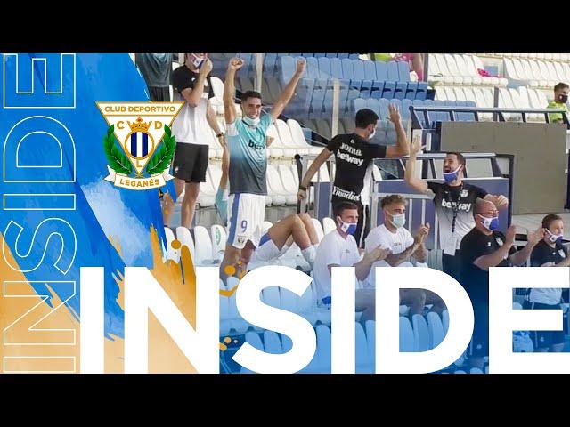 📹 INSIDE | El Leganés vence a Las Palmas en el estreno liguero
