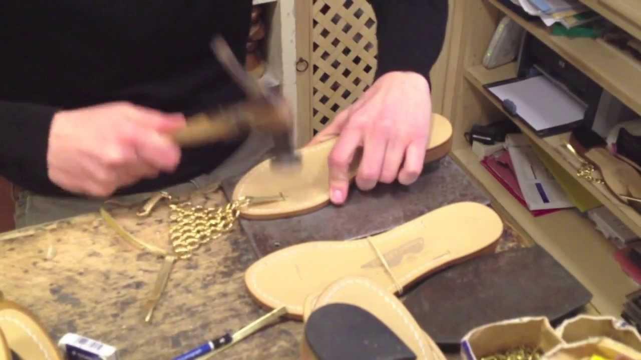 amadeo canfora sandals capri italy youtube