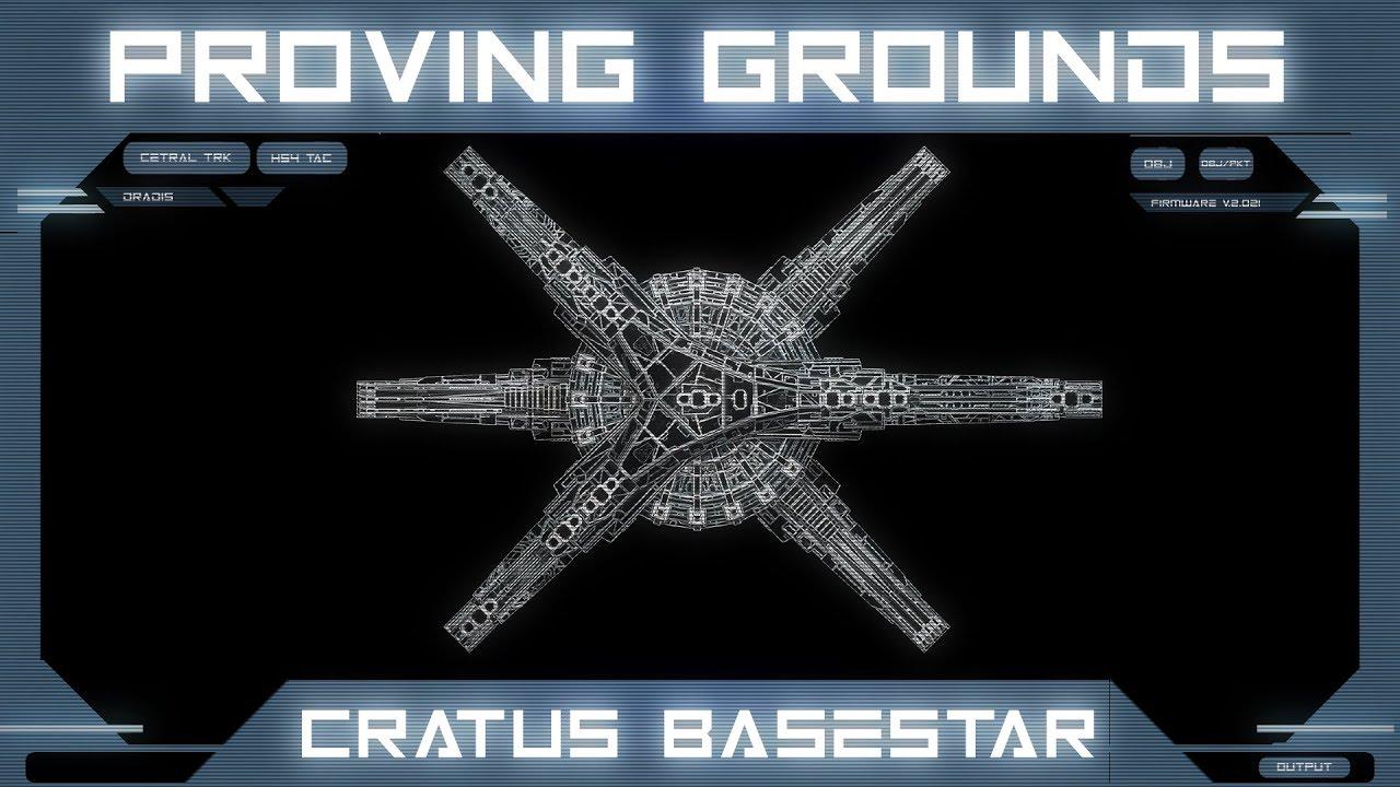 Battlestar Galactica: Cratus Class Basestar | Deadlock Proving Grounds