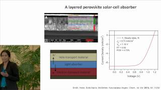 2014 GCEP Technical Talks: Renewables   Hydrid Perovskite Solar-Cell Absorbers