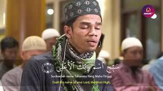 Gambar cover Surat Al-A'la Qur'an recitation Muzammil Hasbalah