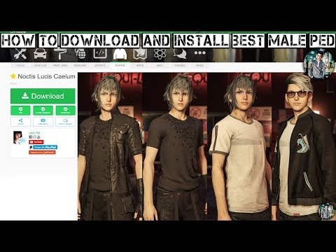 How to download and install and customize Best male ped mod for GTA 5 slow and easy tutorial 2018!