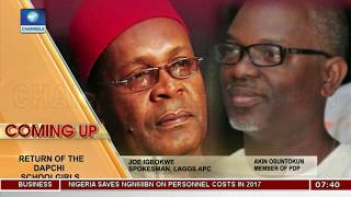 Chibok/Dapchi Girls' Rescue: Igbokwe,Osuntokun Trade Blames Over Failures Pt.1 |Sunrise Daily|
