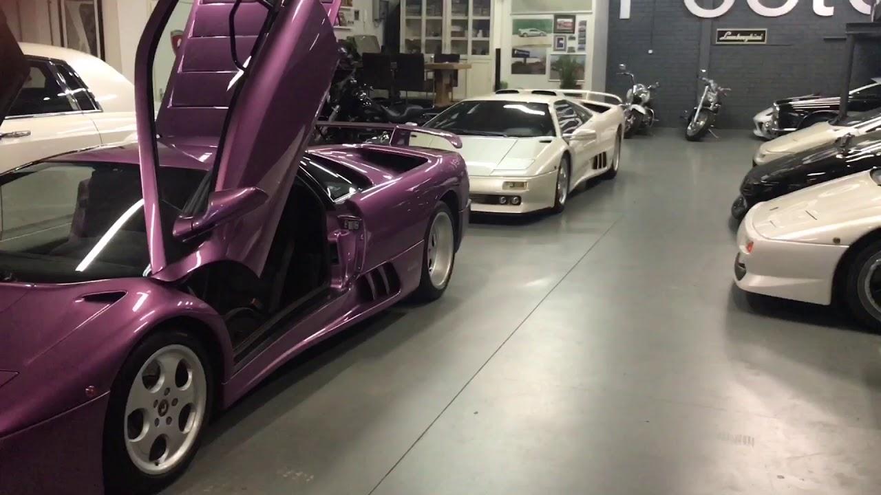 Lamborghini Diablo Se30 Jota And 2 Se30 For Sale Youtube
