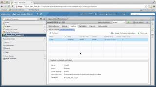 VMware vSphere Data Protection - Automated Backup Verification