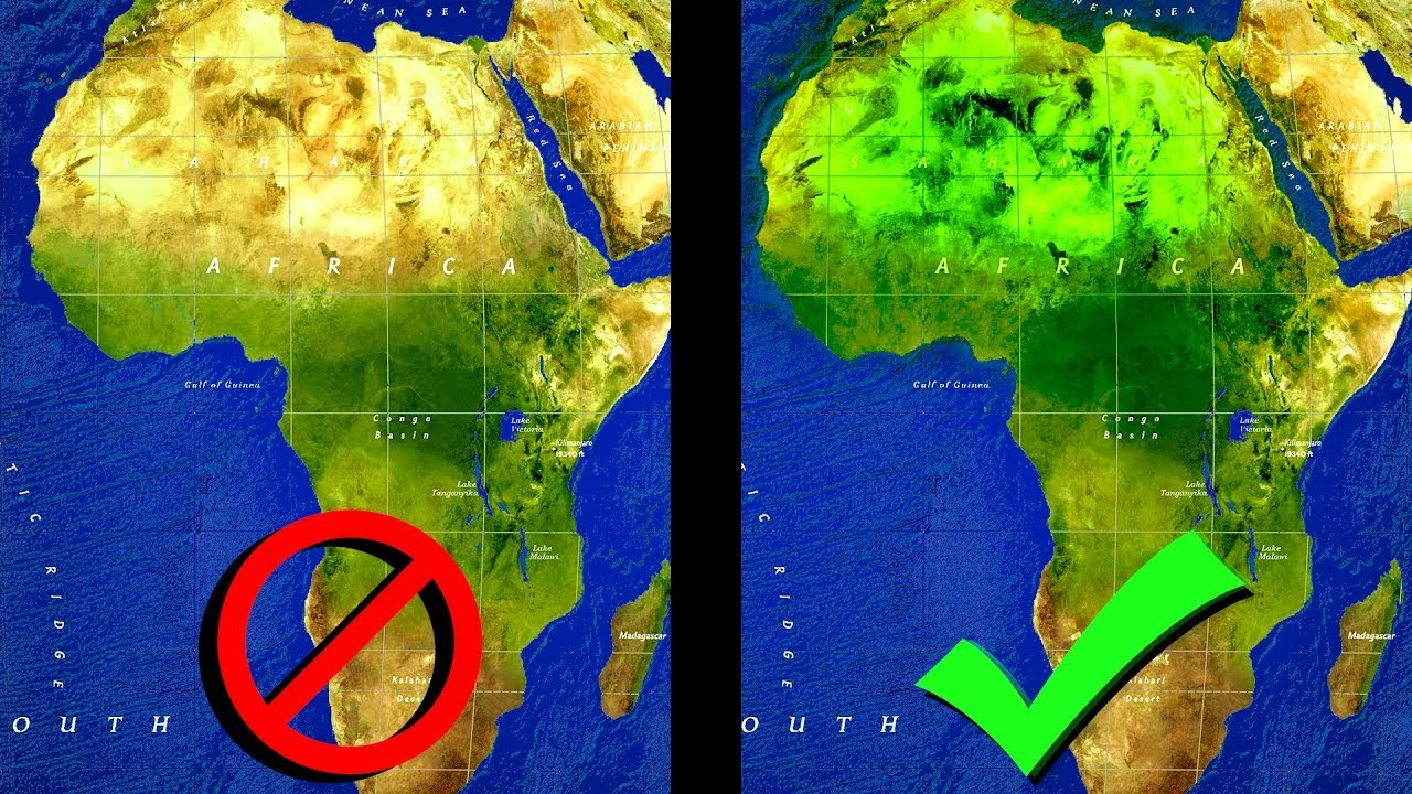 What if the Sahara Desert was Green? (EU4) - YouTube