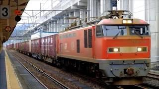 JR貨物EF510-9号機 高速貨物4076レ 糸魚川発車