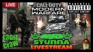 Call Of Duty Modern Warfare Beta! Friday Night Grown Folks Sipping & Gaming On MW Beta!