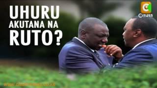 Uhuru, Ruto na Kalonzo Wakutana
