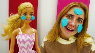 Секрет красоты Барби: Маска для куклы