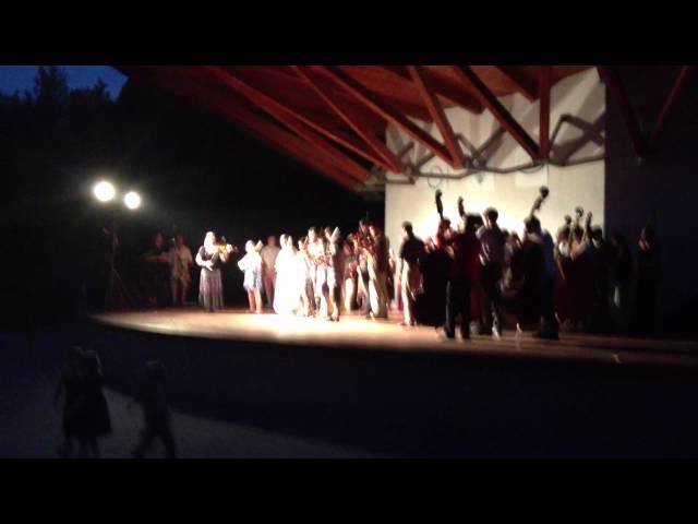 Métatábor 2012 Koncert - kicsik - Kuczera Barbara csoportja