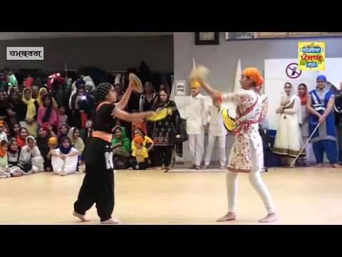 Gurmat Camp Gatka Hamburg s251015 (Media Punjab TV)