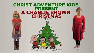 Kids Charlie Brown Christmas 2017
