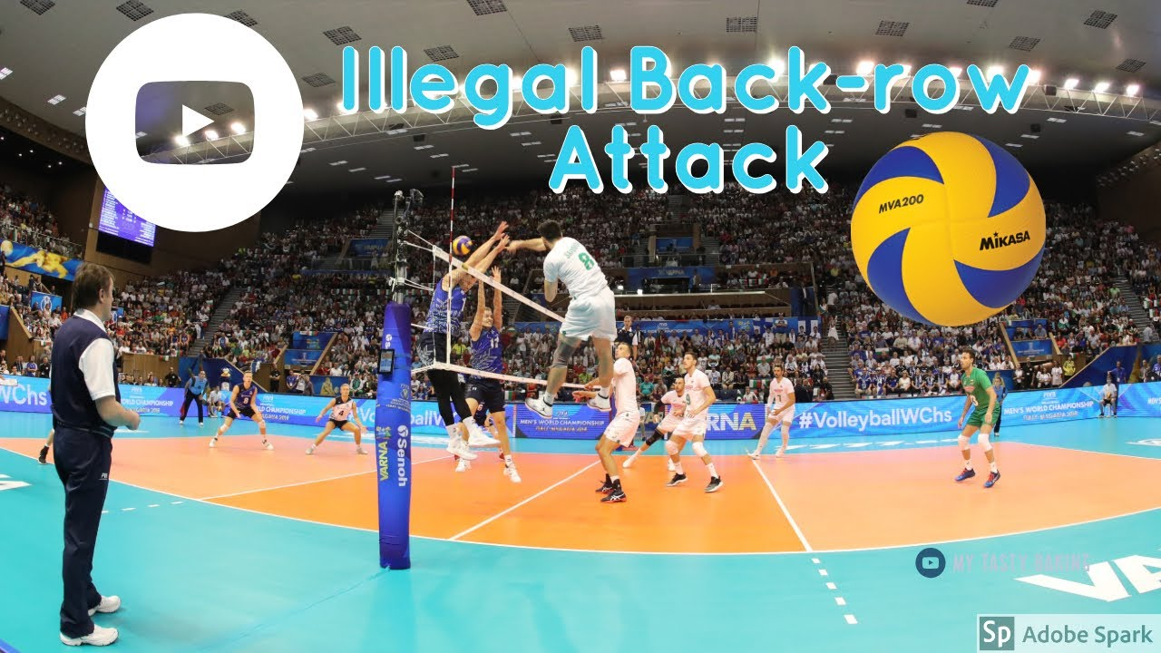 Volleyball Rules Illegal Back Row Attack Youtube