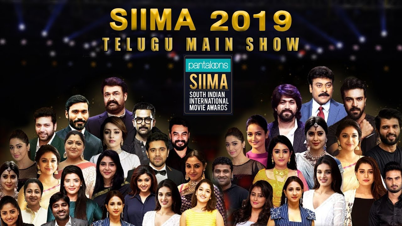 Download SIIMA 2019 Main Show Full Event | Telugu