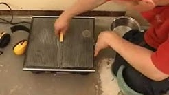 Floor Tile Cutting - Part 1 - The Wet Tile Saw