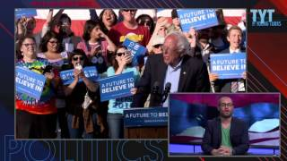 Bernie Sanders' California Primary Fate Hangs On...