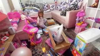 Eski evimiz, Havuzlar çadırlar oyuncaklarımızdan getiriyoruz, eğlenceli çocuk videosu