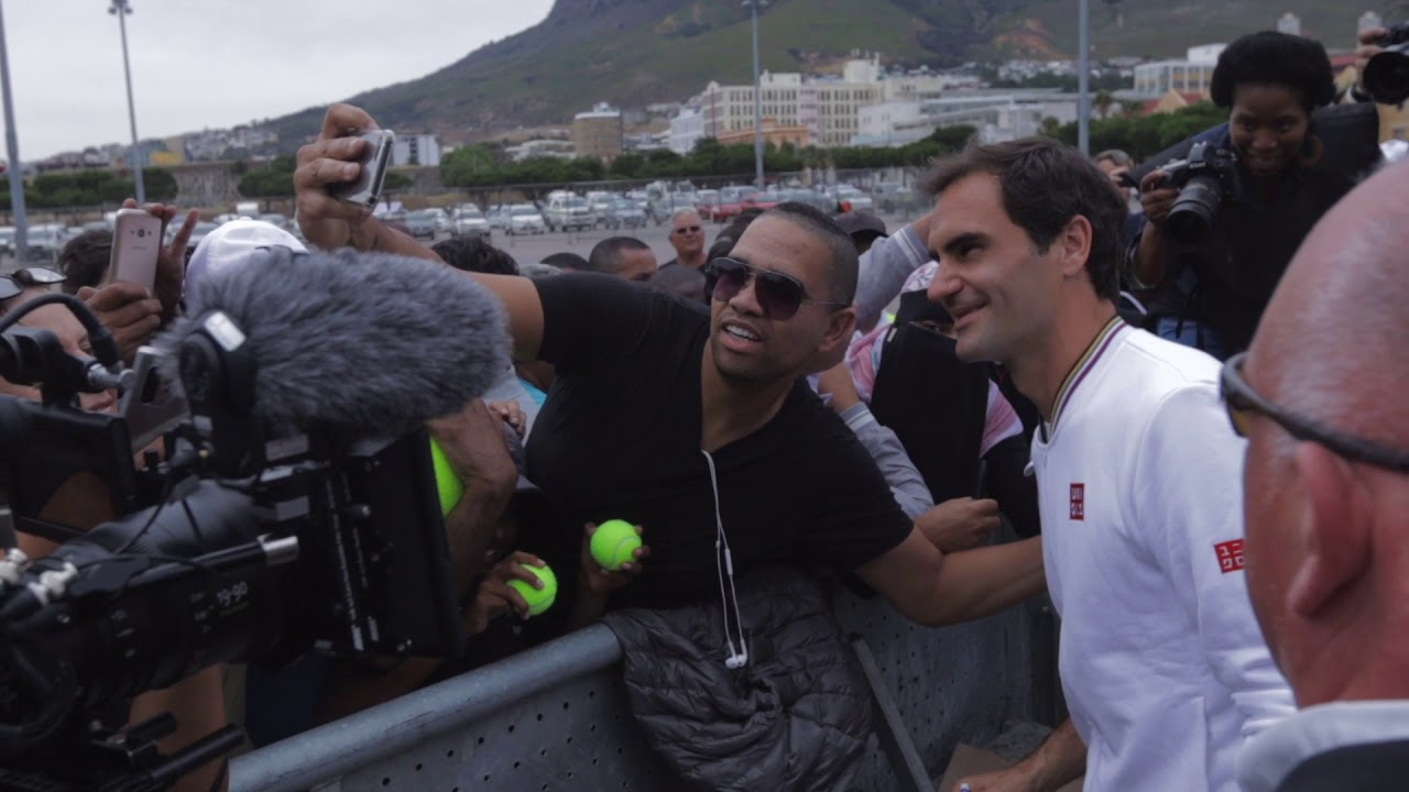 Roger Federer And Rafael Nadal Take Cape Town Youtube