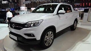 2019 Ssangyong Musso - Exterior And Interior - Geneva Motor Show 2018