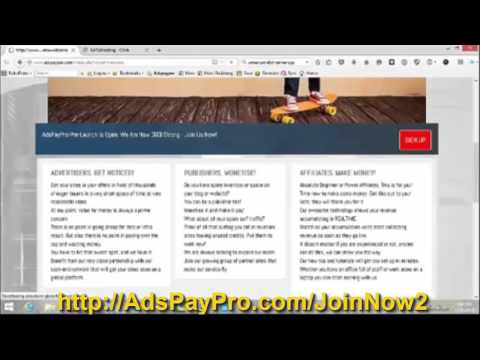 How to make money with AdsPayPro